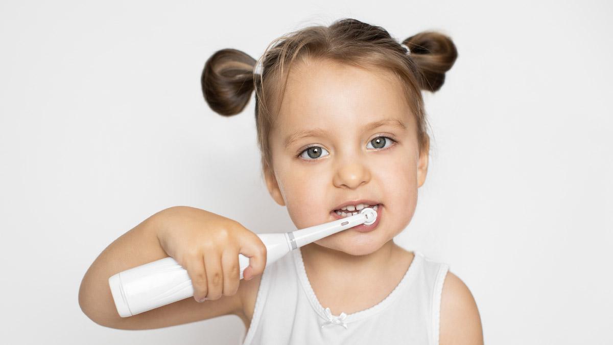 Escova elétrica infantil