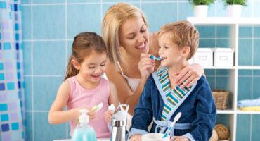higiene oral crianças